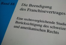 Kündigung Franchisevertrag
